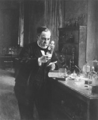 Louis Pasteur:  circa:  1871