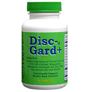 Disc Guard Supplements for Back Pain