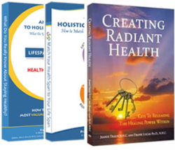 Natural, holistic health and healing books, written by Dr. Frank Lucas, PhD, NHC